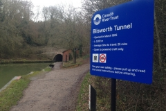 Blisworth Tunnel - Southern portal